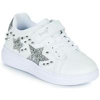 Pantofi Fete Pantofi sport Casual Primigi NOLLA Alb / Argintiu