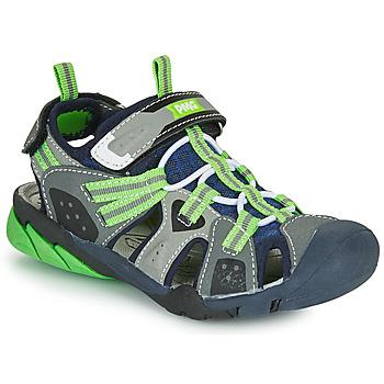 Pantofi Băieți Sandale sport Primigi ANATI Gri / Verde