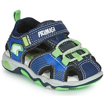 Pantofi Băieți Sandale sport Primigi DINNO Albastru / Verde