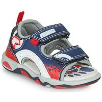 Pantofi Băieți Sandale  Primigi FRANG Albastru / Roșu