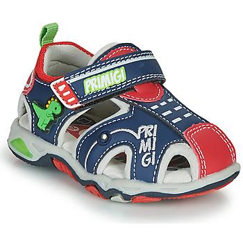 Pantofi Băieți Sandale sport Primigi ANIS Albastru / Roșu / Verde