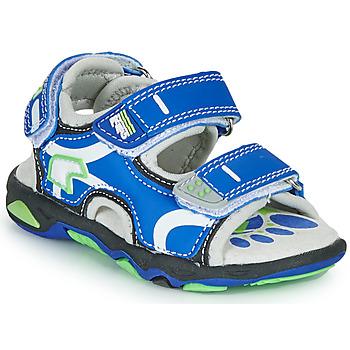 Pantofi Băieți Sandale  Primigi YANIS Albastru / Verde