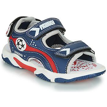 Pantofi Băieți Sandale  Primigi MATHIS Albastru / Roșu