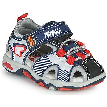 Pantofi Băieți Sandale sport Primigi HIMAN Gri / Albastru / Roșu