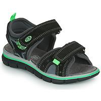 Pantofi Băieți Sandale  Primigi NOIRA Negru / Verde