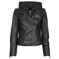 Îmbracaminte Femei Jachete din piele și material sintetic Ikks BS48015-02 Negru