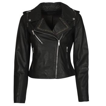 Îmbracaminte Femei Jachete din piele și material sintetic Ikks BQ48045-02 Negru