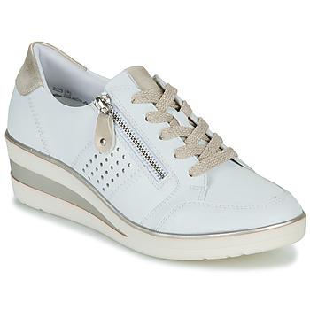 Pantofi Femei Pantofi sport Casual Remonte Dorndorf DORA Alb / Auriu