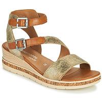 Pantofi Femei Sandale  Remonte Dorndorf BALANCE Auriu / Maro