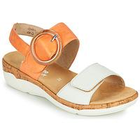 Pantofi Femei Sandale  Remonte Dorndorf ORAN Portocaliu / Alb