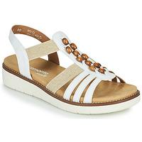 Pantofi Femei Sandale  Remonte Dorndorf GRISSA Alb / Gri
