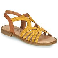 Pantofi Femei Sandale  Remonte Dorndorf SANDA Galben / Maro