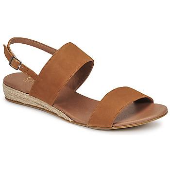 Pantofi Femei Sandale  Casual Attitude OLIVE Camel