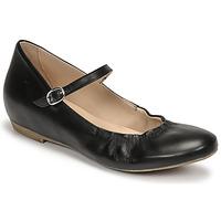 Pantofi Femei Balerin și Balerini cu curea Casual Attitude OLIVIA Negru