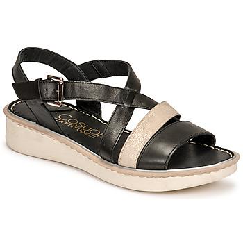 Pantofi Femei Sandale  Casual Attitude ODETTE Negru / Auriu