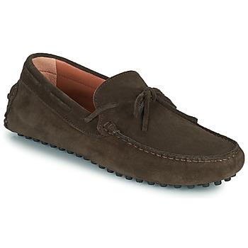 Pantofi Bărbați Mocasini Casual Attitude ODILON Maro