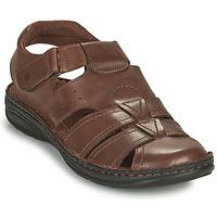 Pantofi Bărbați Sandale  Casual Attitude ODOUNE Maro