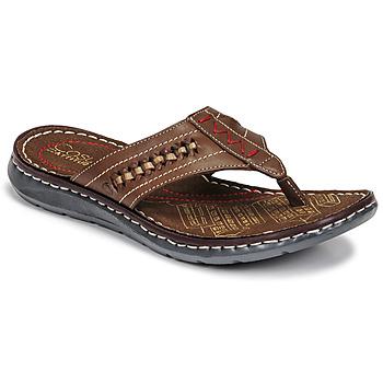 Pantofi Bărbați  Flip-Flops Casual Attitude OPOM Maro