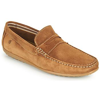 Pantofi Bărbați Mocasini Casual Attitude IMOPO Camel