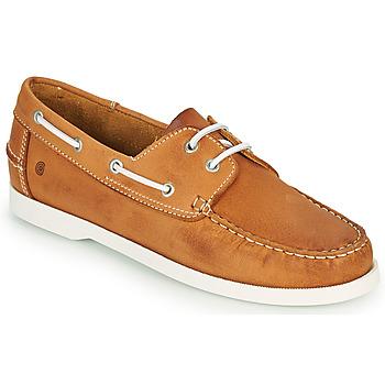 Pantofi Bărbați Pantofi barcă Casual Attitude REVORO Camel