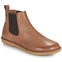 Pantofi Femei Ghete Casual Attitude ODILETTE Camel