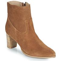 Pantofi Femei Botine Casual Attitude OCETTE Camel