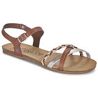 Pantofi Femei Sandale  Casual Attitude ODIA Camel / Auriu
