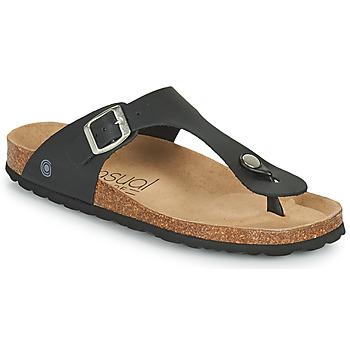 Pantofi Femei  Flip-Flops Casual Attitude OXOA Negru