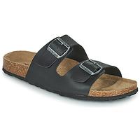 Pantofi Bărbați Papuci de vară Casual Attitude OMAO Negru