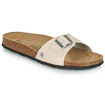 Pantofi Bărbați Papuci de vară Casual Attitude OMIU Taupe