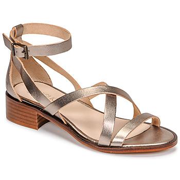 Pantofi Femei Sandale  Casual Attitude COUTIL Bronz