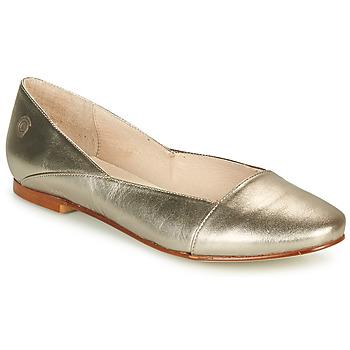 Pantofi Femei Balerin și Balerini cu curea Casual Attitude TOBALO Bronz
