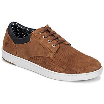Pantofi Bărbați Pantofi Derby Casual Attitude OZON Camel