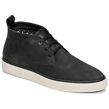 Pantofi Bărbați Ghete Casual Attitude OLEO Negru