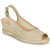 Pantofi Femei Sandale  Casual Attitude MADELEINE Auriu