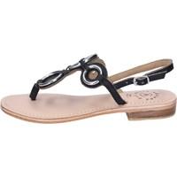 Pantofi Femei Sandale  Adriana Del Nista BK994 Negru