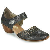 Pantofi Femei Pantofi cu toc Rieker DOUNIA Negru