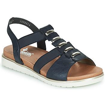 Pantofi Femei Sandale  Rieker NINNA Albastru