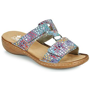 Pantofi Femei Papuci de vară Rieker FOUNNA Multicolor