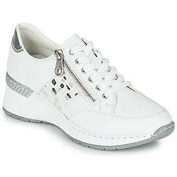 Pantofi Femei Pantofi sport Casual Rieker GRAMI Alb