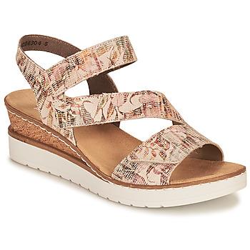 Pantofi Femei Sandale  Rieker CASSIE Multicolor