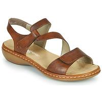 Pantofi Femei Sandale  Rieker ZAZIE Maro