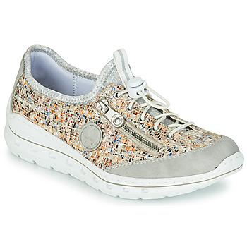 Pantofi Femei Pantofi sport Casual Rieker GRISSA Gri / Multicolor