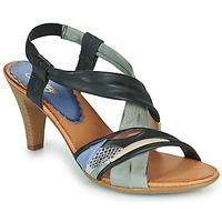 Pantofi Femei Sandale  Betty London POULOI Negru / Gri