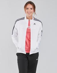 Îmbracaminte Femei Bluze îmbrăcăminte sport  adidas Performance MARATHON JKT W Alb