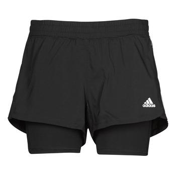 Îmbracaminte Femei Pantaloni scurti și Bermuda adidas Performance PACER 3S 2 IN 1 Negru