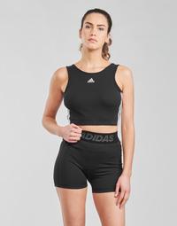 Îmbracaminte Femei Bustiere sport adidas Performance W 3S CRO Negru