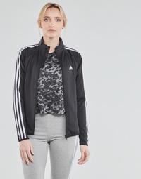 Îmbracaminte Femei Bluze îmbrăcăminte sport  adidas Performance W 3S TJ Negru