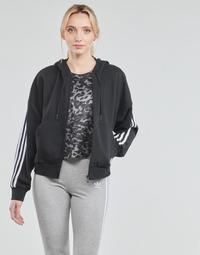 Îmbracaminte Femei Bluze îmbrăcăminte sport  adidas Performance W 3S FZ HD Negru