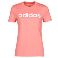 Îmbracaminte Femei Tricouri mânecă scurtă adidas Performance W LIN T Roz